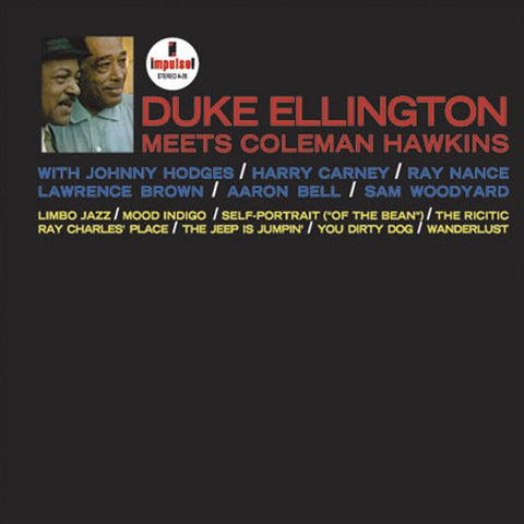 Duke Ellington Meets Coleman Hawkins - Duke Ellington Meets Coleman Hawkins on Hybrid SACD (Awaiting Repress) - direct audio