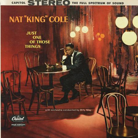Nat King Cole - Just One of Those Things on 180g 45RPM 2LP Set - direct audio