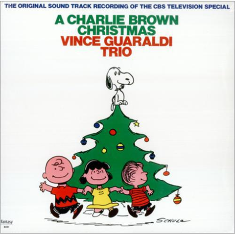 Vince Guaraldi Trio - A Charlie Brown Christmas Colored Vinyl LP - direct audio