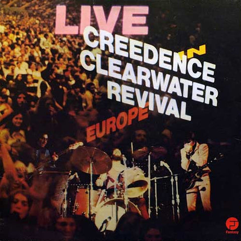 Creedence Clearwater Revival - Live In Europe 180g Vinyl 2LP - direct audio