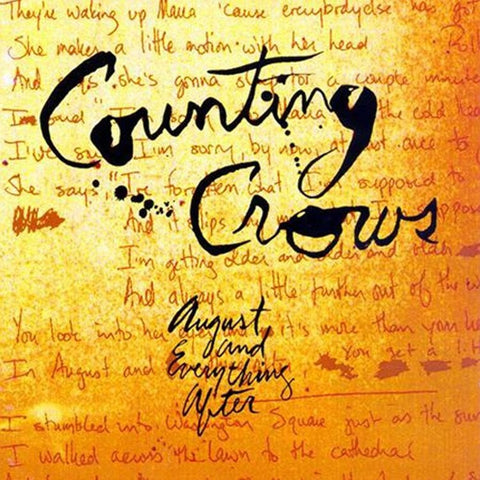 Counting Crows - August And Everything After Vinyl 2LP - direct audio