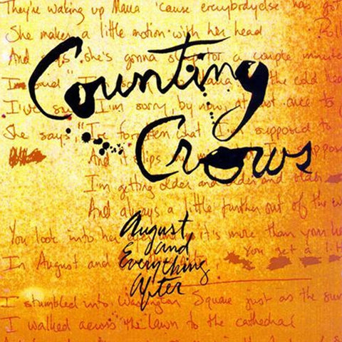 Counting Crows - August And Everything After on 200g 45RPM 2LP - direct audio