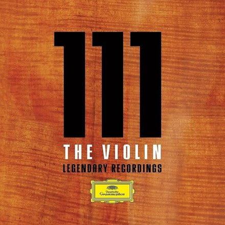 111 The Violin: Legendary Recordings Various Artists 42CD