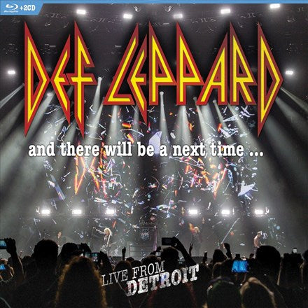 Def Leppard - And There Will Be a Next Time: Live from Detroit Blu-Ray Disc + 2CD (Out Of Stock) Pre-order - direct audio
