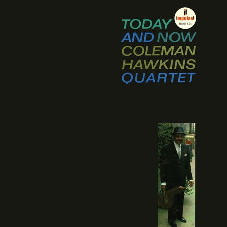 Coleman Hawkins - Today And Now on 180g 45RPM 2LP - direct audio