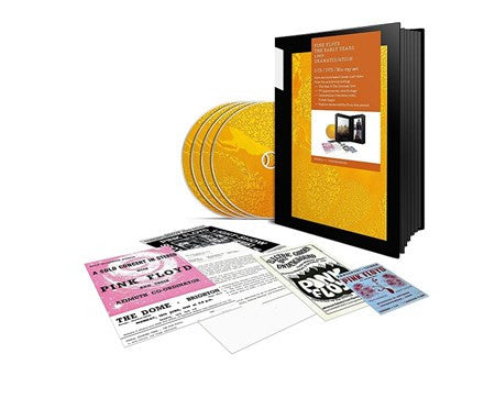 Pink Floyd - 1969 Dramatis/ation 2CD + DVD + Blu-ray Box Set - direct audio