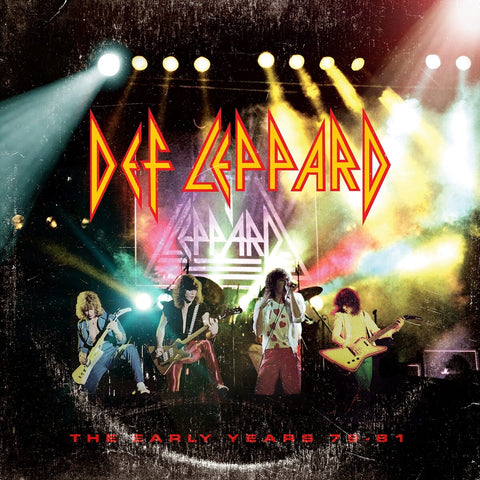 Def Leppard - The Early Years 5CD Box Set - direct audio