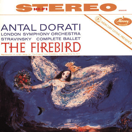 Stravinsky - The Firebird - Dorati - London Symphony Orchestra on 180g Import LP - direct audio