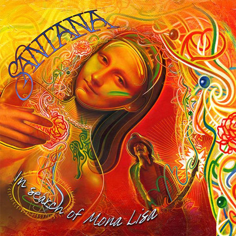 "Santana - In Search Of Mona Lisa 12"" Vinyl EP - direct audio"