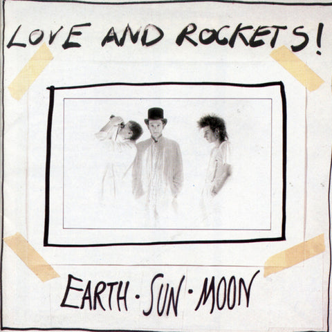 Love And Rockets - Earth-Sun-Moon on Numbered Limited Edition 200g LP - direct audio
