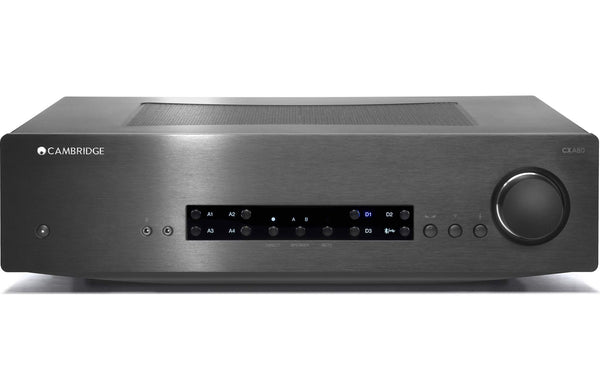 cambridge audio cxa80 stereo integrated amplifier with built in dac. Black Bedroom Furniture Sets. Home Design Ideas