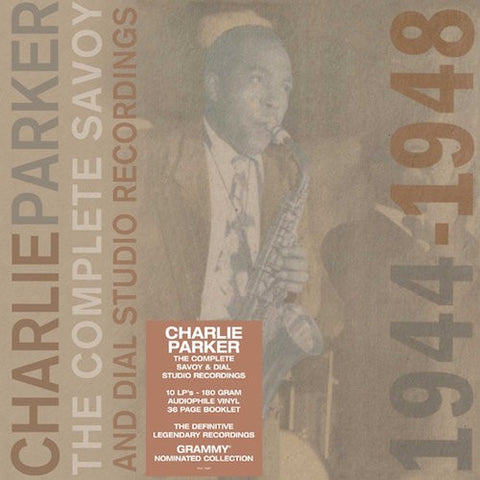 Charlie Parker - The Complete Savoy And Dial Recordings 1944-1948 on 180g Vinyl 10LP Box Set + 36 Page Book - direct audio