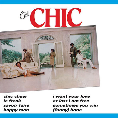 Chic - C'est Chic on Limited Edition 180g LP - direct audio