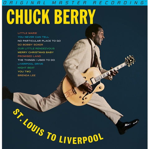 Chuck Berry - Chuck Berry is on Top - St. Louis to Liverpool on One 24K Gold CD from Mobile Fidelity - direct audio - 1
