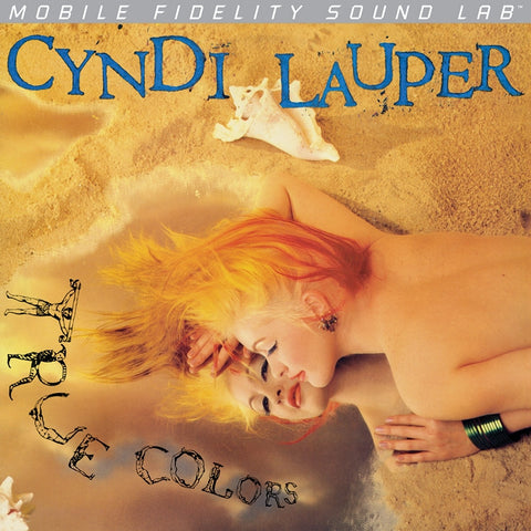 Cyndi Lauper - True Colors on Numbered Limited Edition LP from Mobile Fidelity Silver Label - direct audio