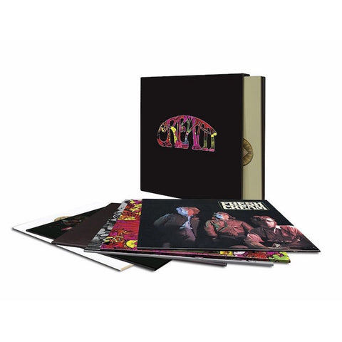 Cream - Cream: 1966 - 1972 on Limited Edition 180g 7LP Box Set w/ Download - direct audio
