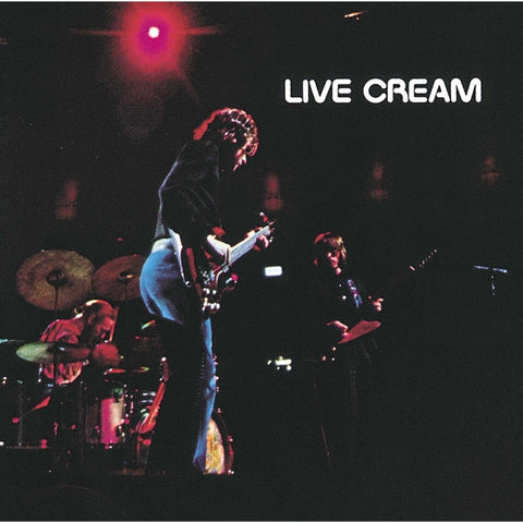 Cream - Live Cream on 180g LP - direct audio