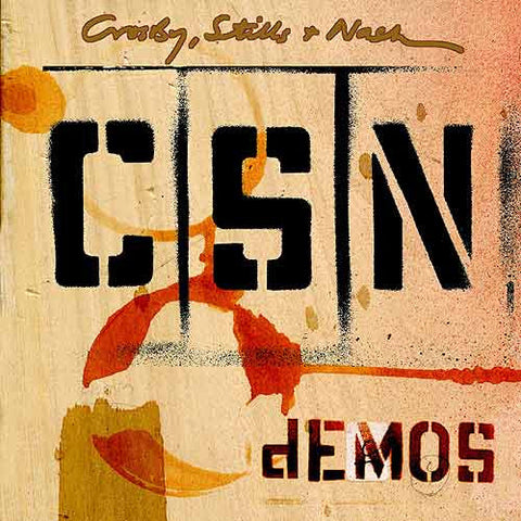 Crosby, Stills & Nash - Demos 180g LP - direct audio