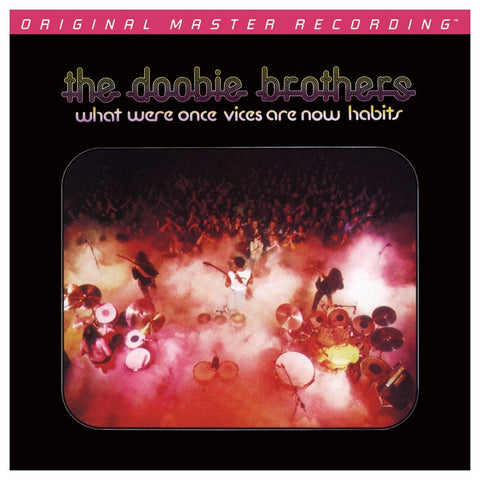 The Doobie Brothers - What Were Once Vices Are Now Habits on Numbered Limited Edition Hybrid SACD from Mobile Fidelity (Awaiting Repress) - direct audio