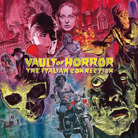 Vault Of Horror - The Italian Connection Vinyl 2LP & 1CD