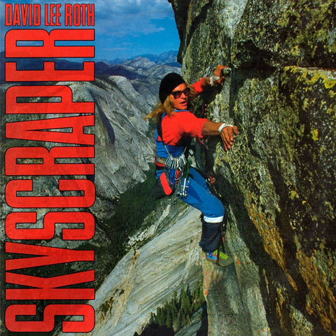 David Lee Roth - Skyscraper on Limited Edition 180g LP - direct audio