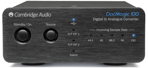Cambridge Audio - DACMagic 100 24/192 DAC - direct audio - 1