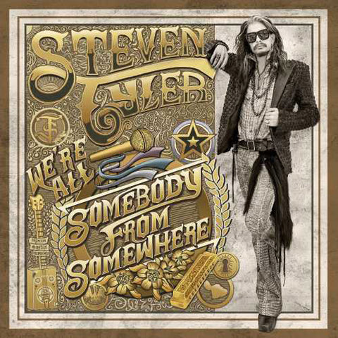 Steven Tyler - We're All Somebody From Somewhere LP - direct audio