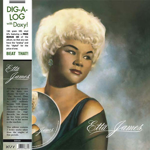 Etta James - Etta James on 180g Import Vinyl LP/CD - direct audio