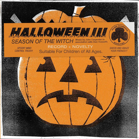 John Carpenter & Alan Howarth Halloween III: Season Of The Witch Soundtrack Colored Vinyl LP 180g