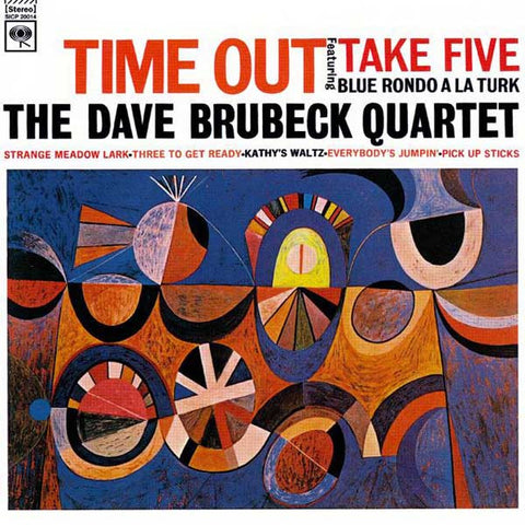 The Dave Brubeck Quartet - Time Out Hybrid SACD (Out Of Stock) - direct audio