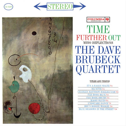 The Dave Brubeck Quartet - Time Further Out: Miro Reflections 180g LP - direct audio