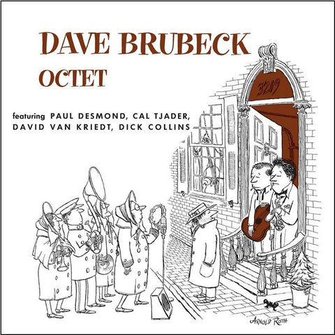 Dave Brubeck Octet - Featuring Paul Desmond, Cal Tjader, David Van Kriedt, Dick Collins LP - direct audio