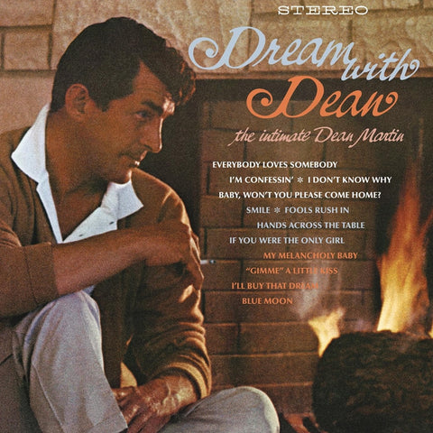 Dean Martin - Dream With Dean on Numbered 180g LP - direct audio