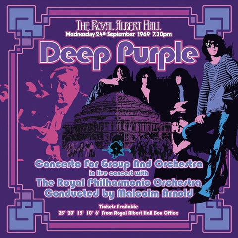 Deep Purple - Concerto For Group And Orchestra Limited Edition 180g 3LP Box Set - direct audio