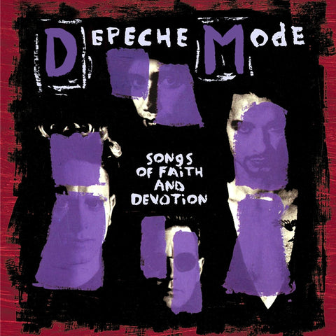 Depeche Mode - Songs Of Faith And Devotion 180g Vinyl LP (Out Of Stock) Pre-order - direct audio