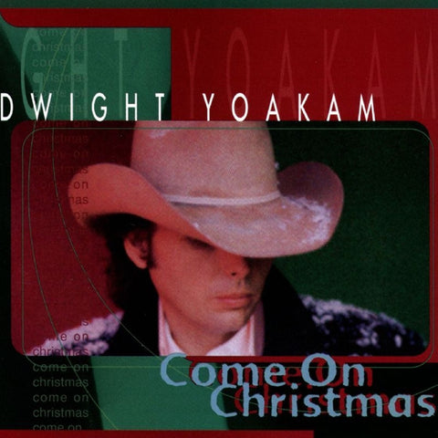 Dwight Yoakam - Come On Christmas Translucent Green Colored LP - direct audio