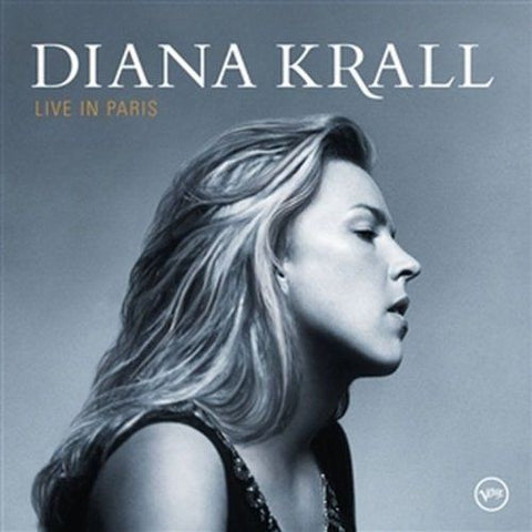Diana Krall - Live In Paris on Numbered Limited Edition 180g 45RPM 2LP - direct audio