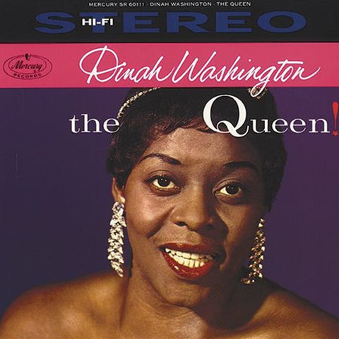 Dinah Washington -  The Queen Import Vinyl LP - direct audio