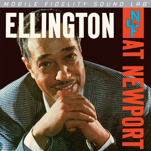 Duke Ellington - Ellington At Newport on Numbered Limited Edition Mono LP from Mobile Fidelity Silver Series - direct audio