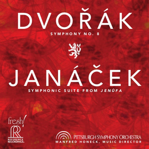 Dvorak - Symphony No. 8 - Janacek - Symphonic Suite from Jenufa - Honeck - Pittsburgh Symphony Orchestra on Hybrid SACD - direct audio