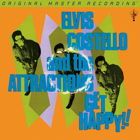 Elvis Costello - Get Happy!! on Numbered Limited Edition 180g 45RPM 2LP Set from Mobile Fidelity - direct audio