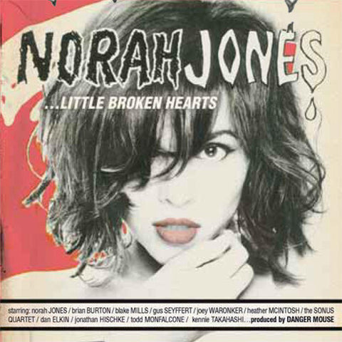 Norah Jones - Little Broken Hearts on 180g White 2LP + Download (Awaiting Repress) - direct audio