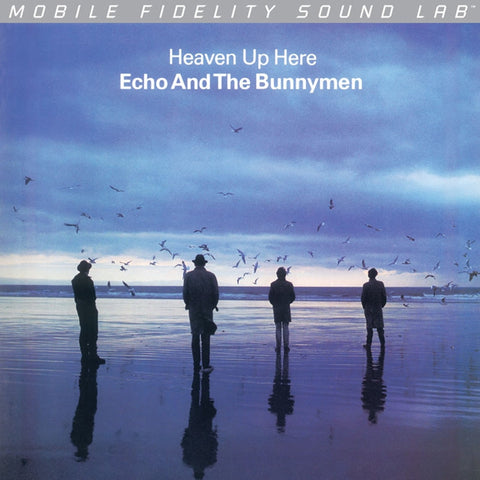 Echo and the Bunnymen - Heaven Up Here on Numbered Limited Edition LP from Mobile Fidelity Silver Label - direct audio