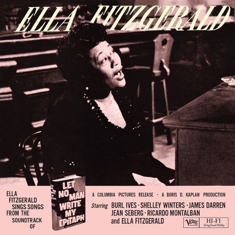 Ella Fitzgerald - Let No Man Write My Epitaph on 200g 45RPM 2LP - direct audio