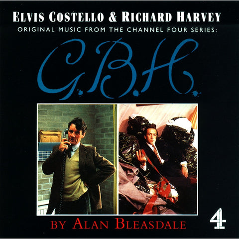 Elvis Costello And Richard Harvey - Music From The Channel Four Series: G.B.H. on Import LP - direct audio