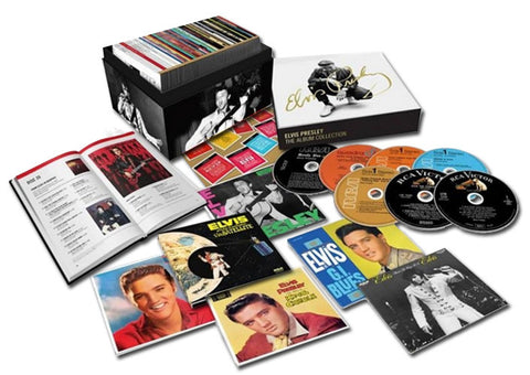 Elvis Presley - The Album Collection on Limited Edition 60CD Box Set - direct audio