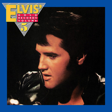 Elvis Presley - Elvis' Gold Records Volume 5 on Limited Edition 180g LP - direct audio