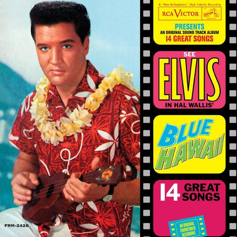 Elvis Presley - Blue Hawaii 180g Vinyl LP (Awaiting Repress) - direct audio