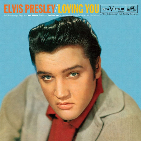 Elvis Presley - Loving You 180g Import Vinyl LP - direct audio