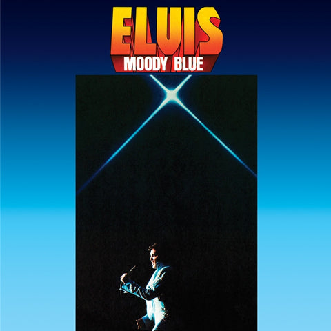 Elvis Presley - Moody Blue on Limited Edition 180g LP - direct audio